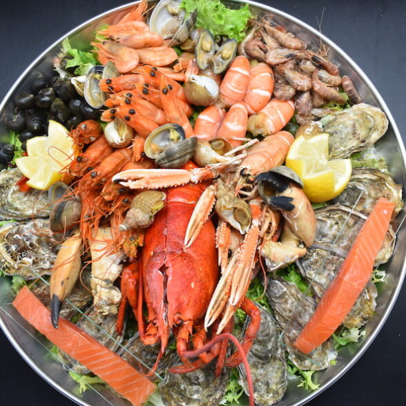Plateau de Fruits de Mer « Escapade royale » – 1 pers.