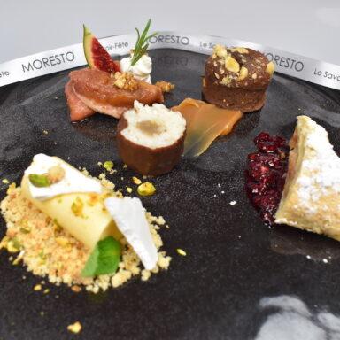 L'Assiette  de cinq  Desserts  Maison
