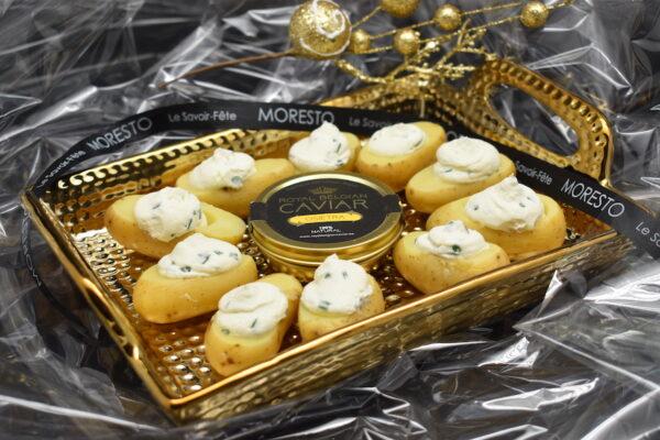 Royal Belgian Caviar 30 gr en colis cadeau