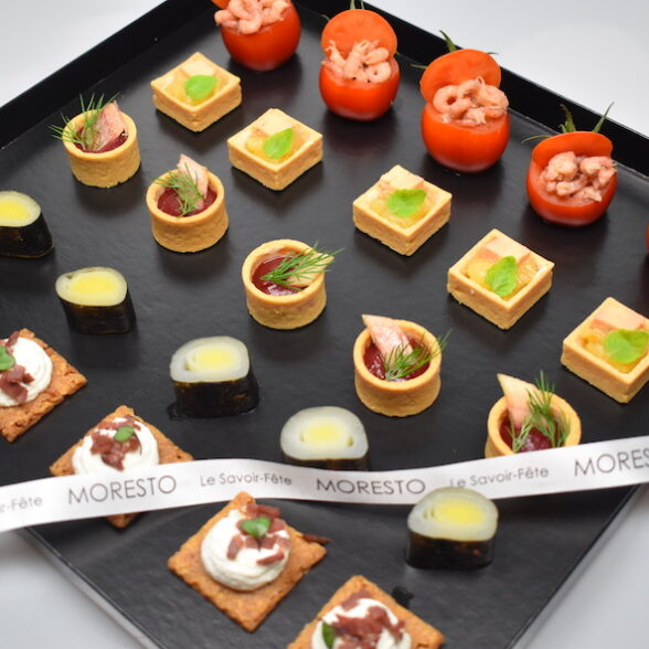 Plateau de 25 amuse-bouche finger-food