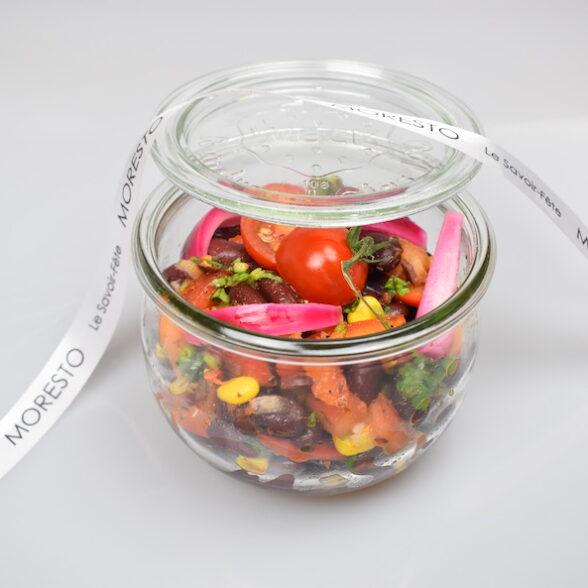 Salade Mexicaine : Haricots, Mais, Poivrons…(bocal 580ml)