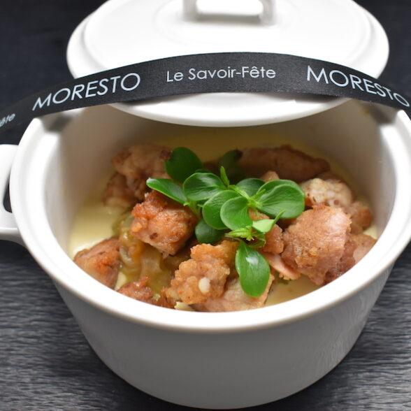 Casserolette de Ris de Veau à la dijonnaise