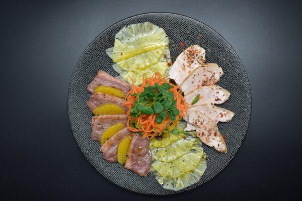 Salade sucrée-salée de la Terre