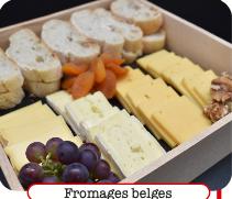Plateau de Fromages belges